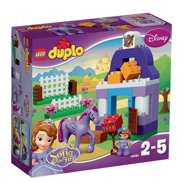 Конструктор LEGO Duplo 10594 Прекрасная: королевская конюшня Софии<br>