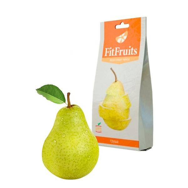 Чипсы FitFruits 20 гр Груша<br>