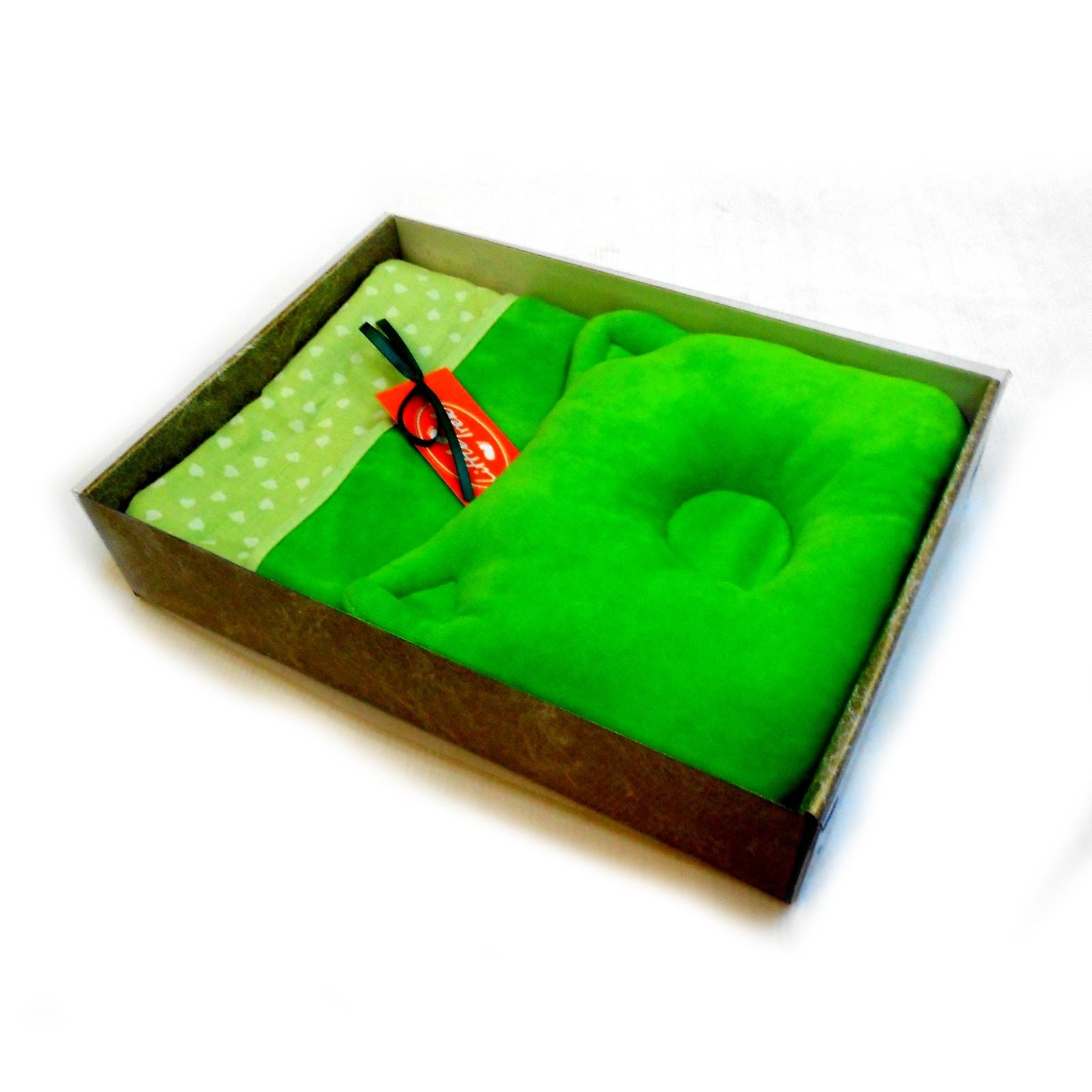 Комплект Little Trek в коляску и кроватку Подушка Одеяло Велюр<br>