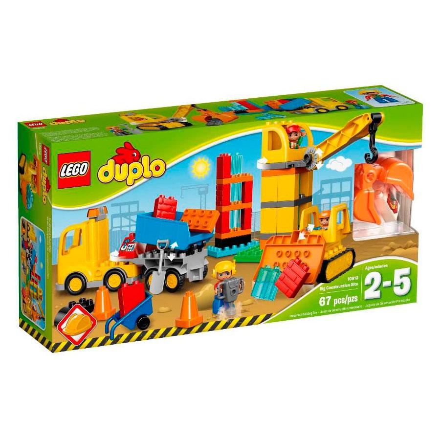 Конструктор LEGO Duplo 10813 Большая стройплощадка<br>