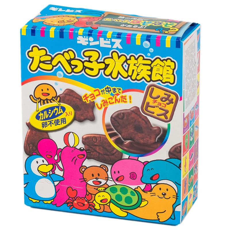 Печенье GINBIS Шоколадное (с 3 лет) 82 гр<br>