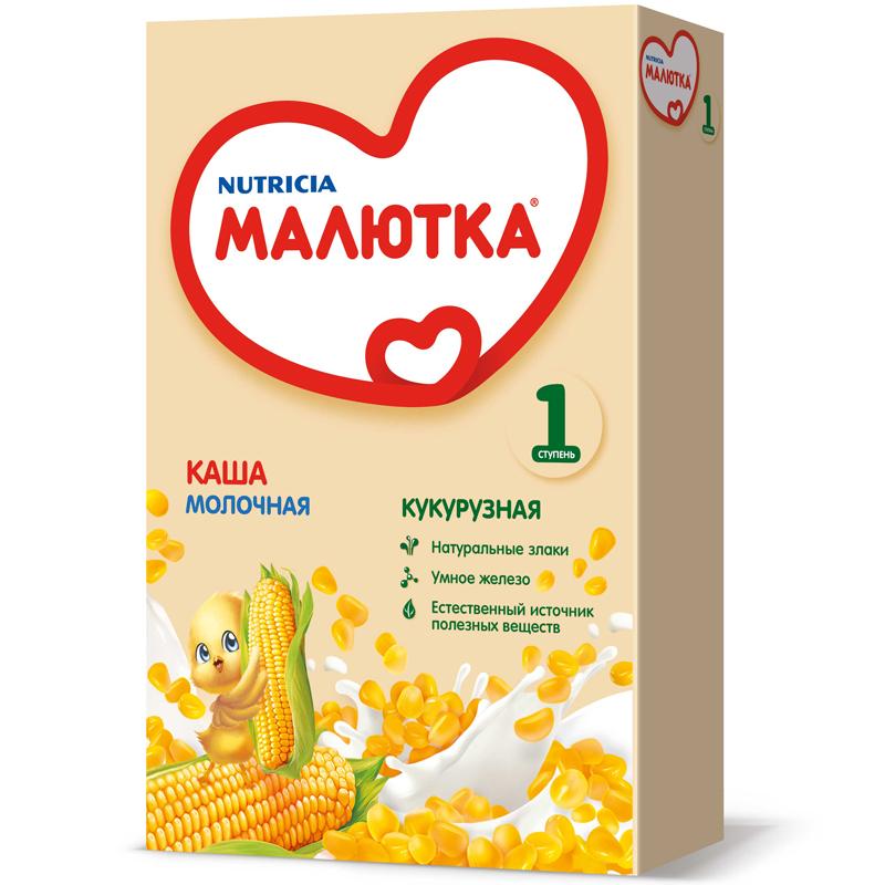 Каша Малютка молочная 220 гр Кукурузная (с 5 мес)<br>