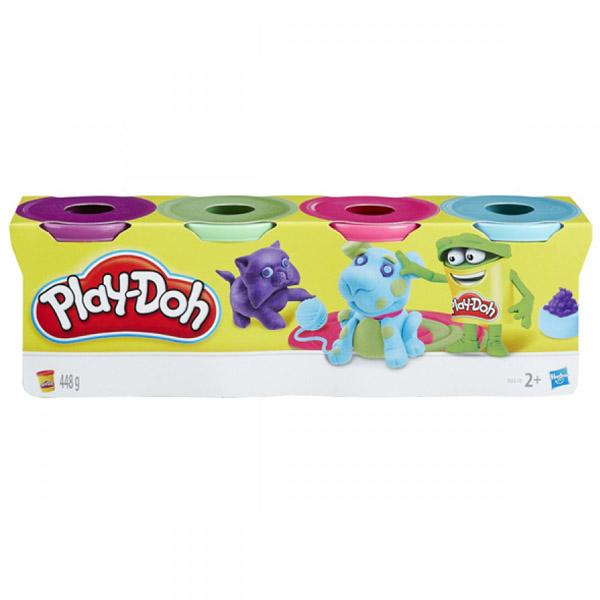 Игровой набор Play-Doh 4 баночки в ассортименте (обновленный)<br>