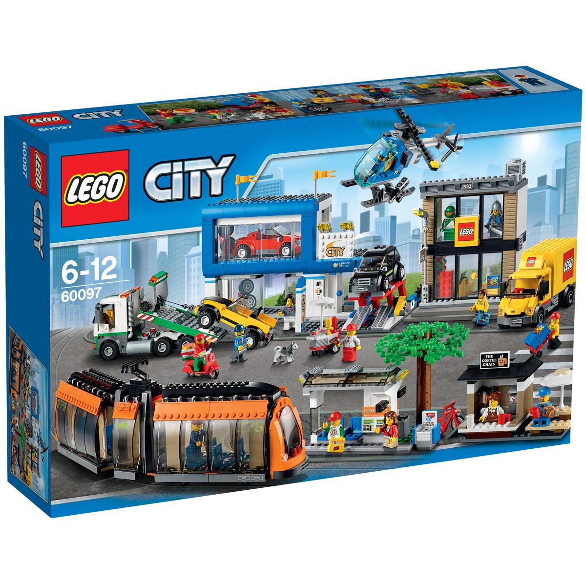 Конструктор LEGO City 60097 Городская площадь<br>