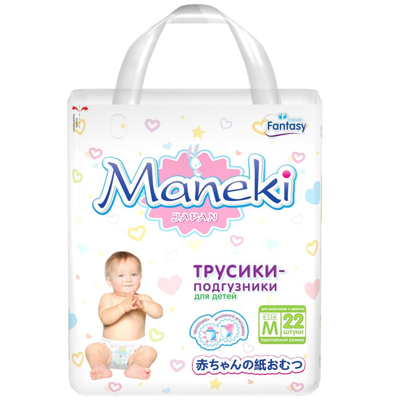Трусики Maneki Fantasy Mini 6-11 кг 22 шт Размер M<br>