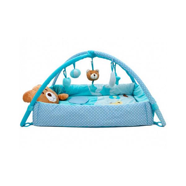 Развивающий коврик Felice Плюшевый мишка Синий<br>