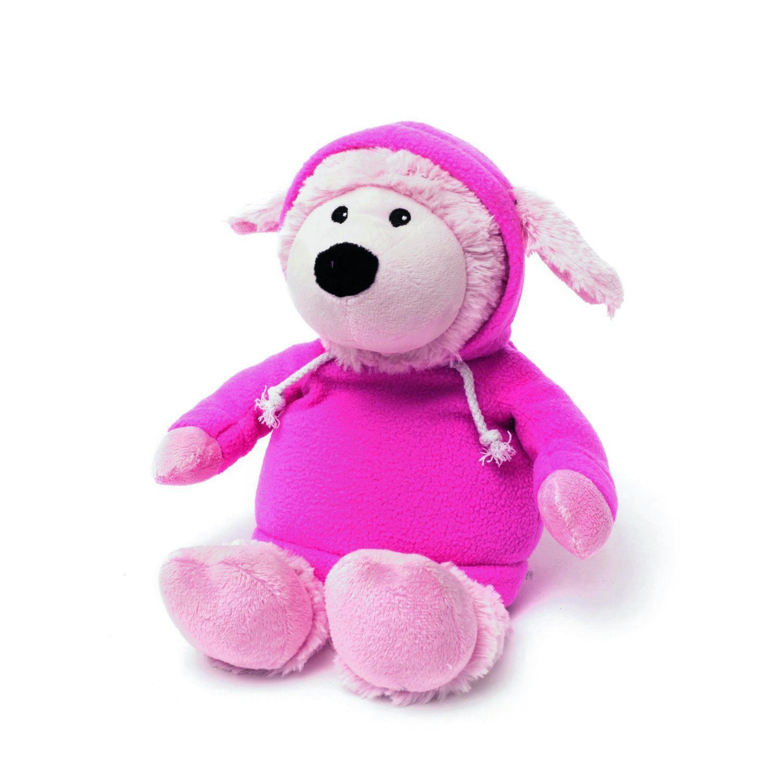 Игрушка-грелка Warmies Овечка в худи розовая<br>