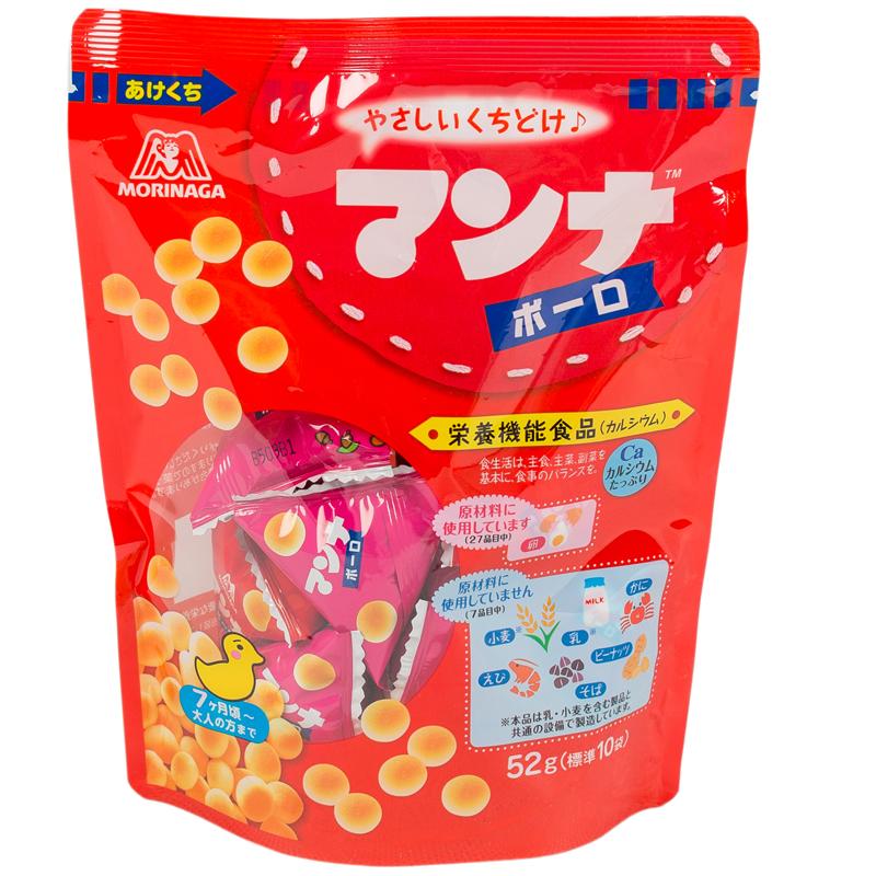 Печенье Manna Bolo воздушное (с 7 мес) 55 гр