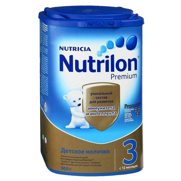 Заменитель Nutricia Nutrilon Premium 900 гр №3 (с 12 мес)<br>