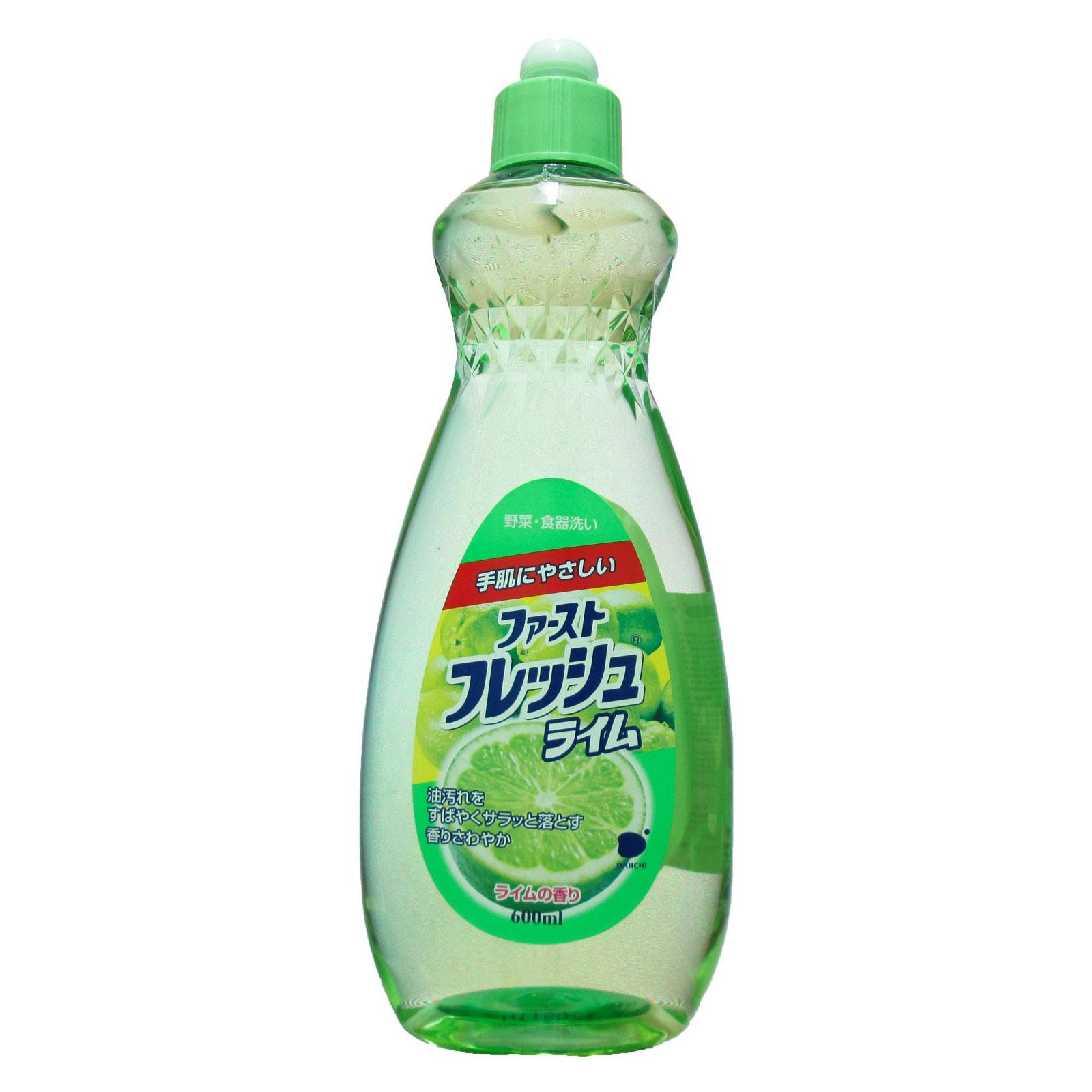 Жидкое средство Daiichi Даичи для мытья посуды 600 мл Лайм<br>