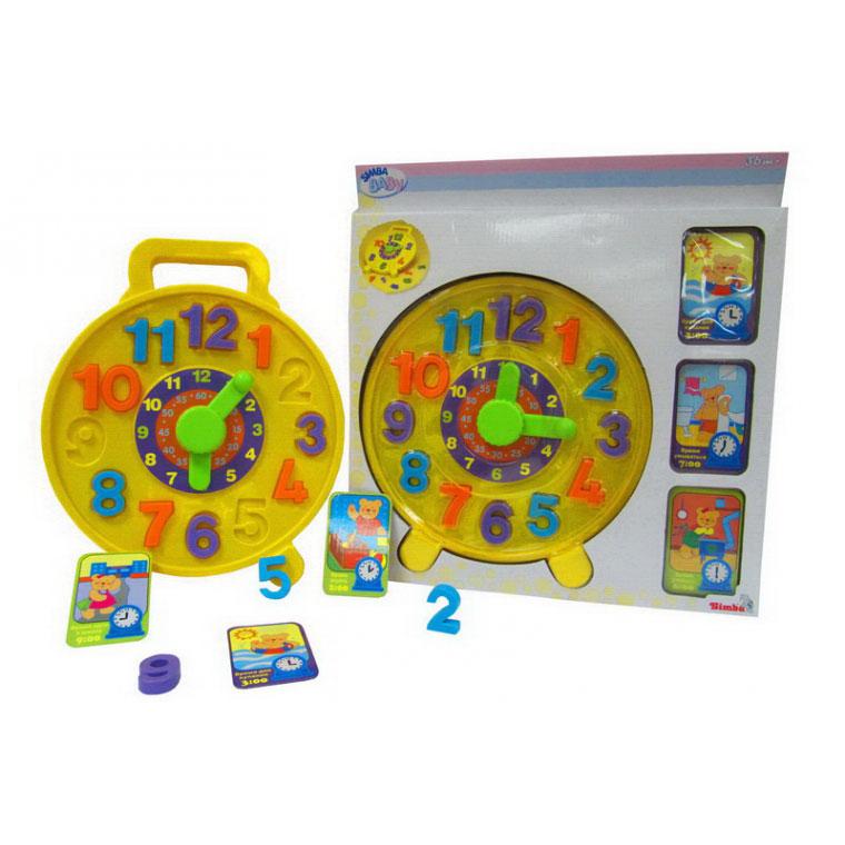 Развивающая игрушка Simba Часики - пазлы<br>