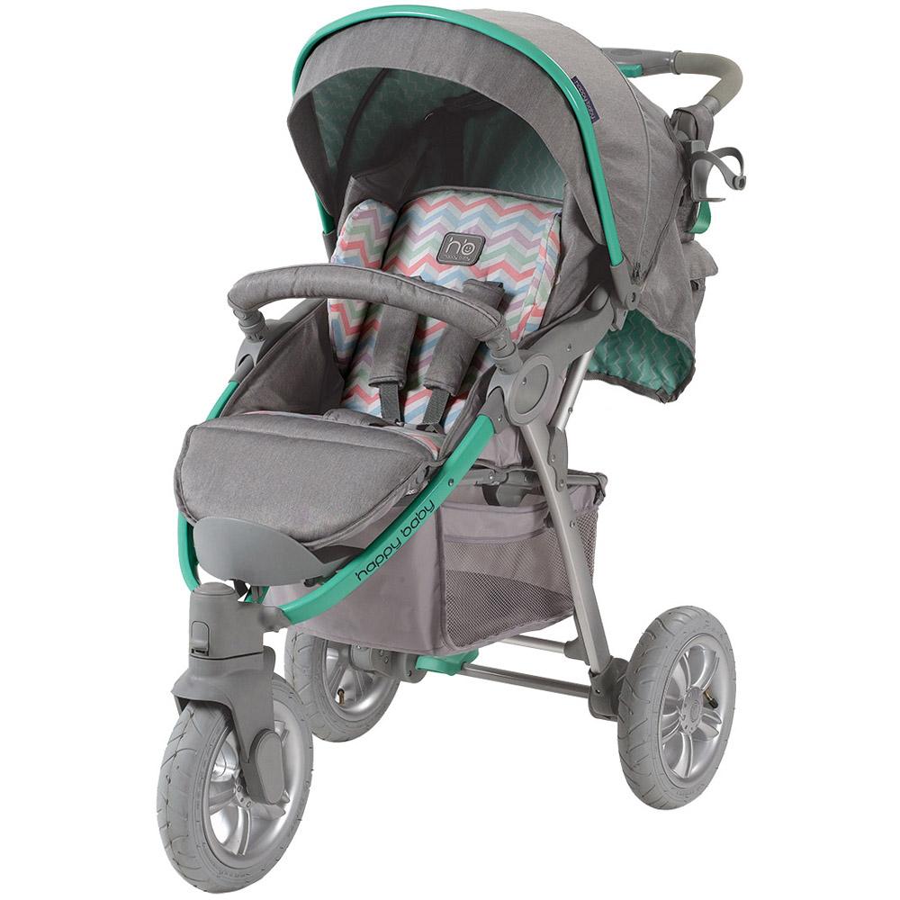 Коляска Happy Baby New Neon Sport Green<br>
