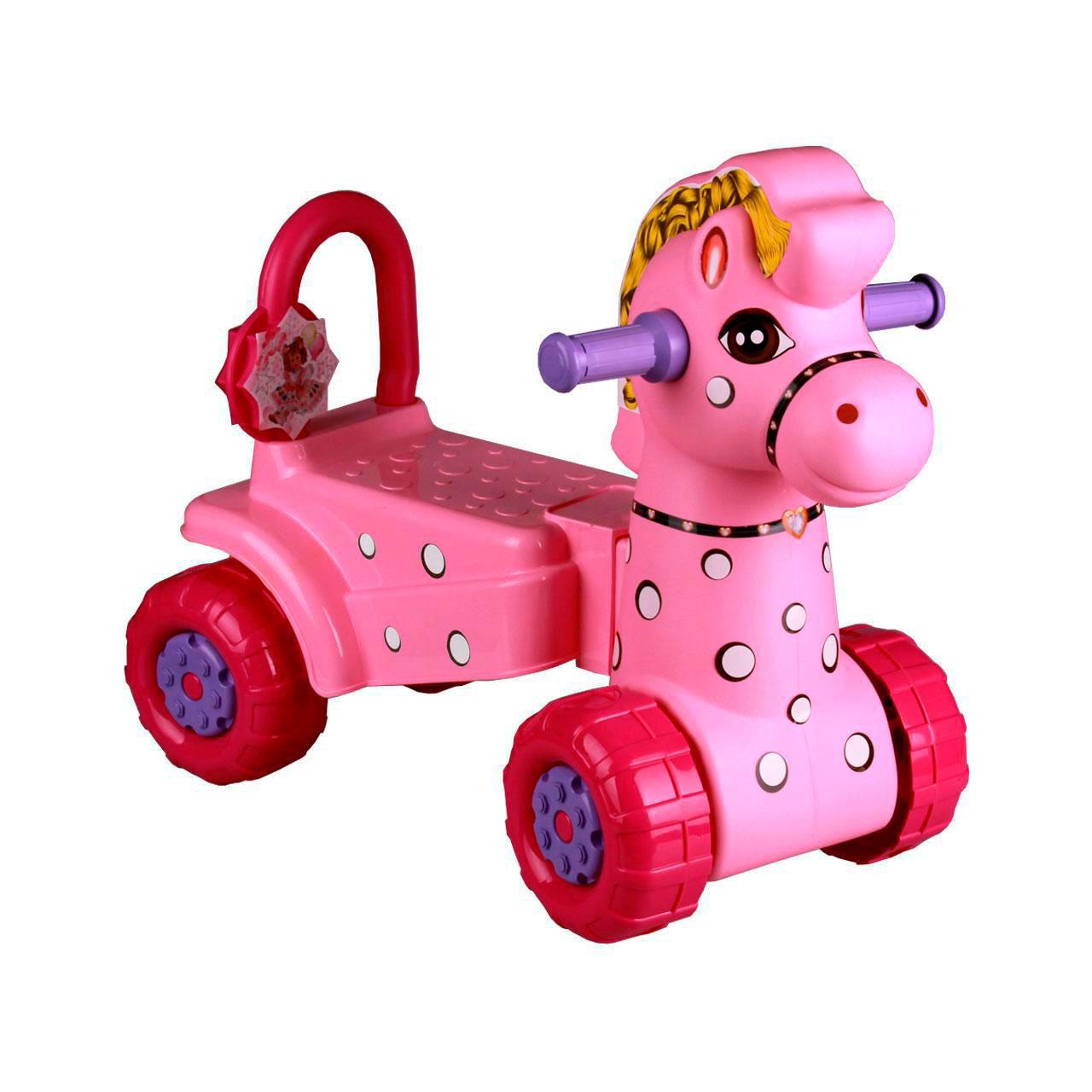 Каталка Альтернатива Лошадка Розовая