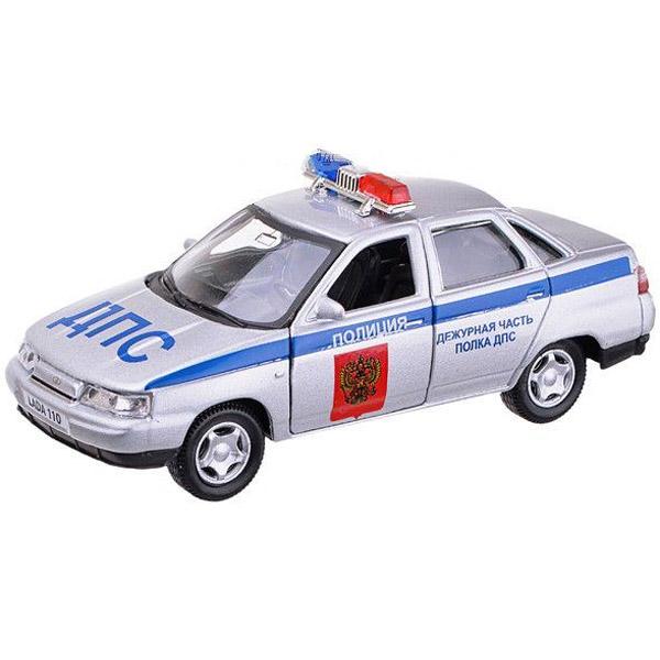 Машинка Autotime LADA 110 полиция 1:36<br>