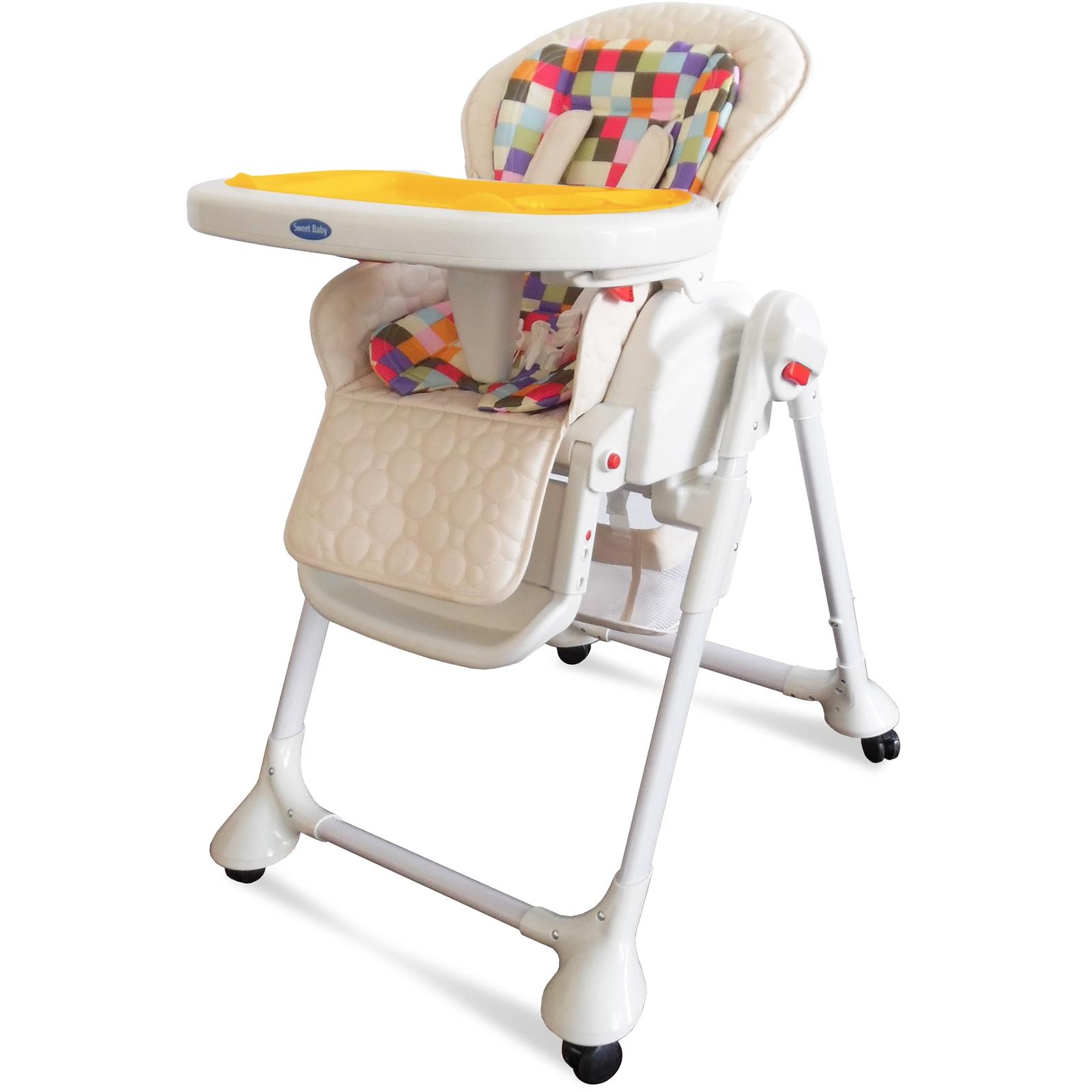 Стульчик для кормления Sweet Baby Luxor Multicolor Маятник Cream<br>