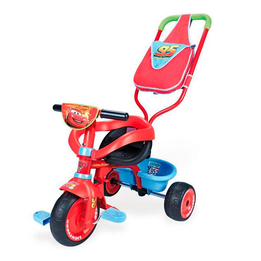 Трехколесный велосипед Smoby Be Fun Confort Cars<br>