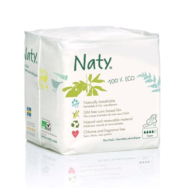 Прокладки гигиенические Naty Большие 13 шт<br>