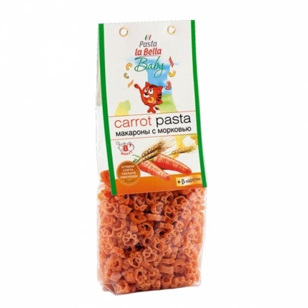 Макароны La Bella baby 250 гр с 18 мес С морковью