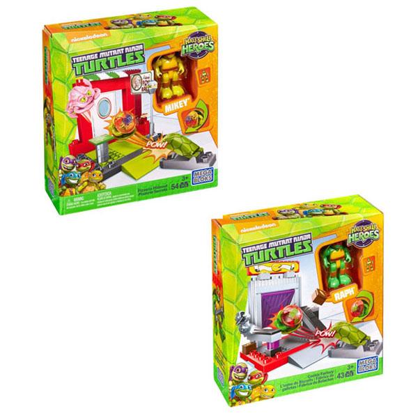 Маленькие игровые наборы Mega Bloks Черепашки-малыши Маленькие наборы<br>
