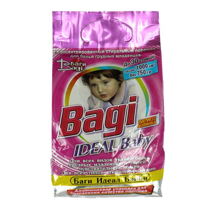 Стиральный порошок Bagi 750 гр. Идеал Бэйби (для всех видов цвета и типа тканей)<br>