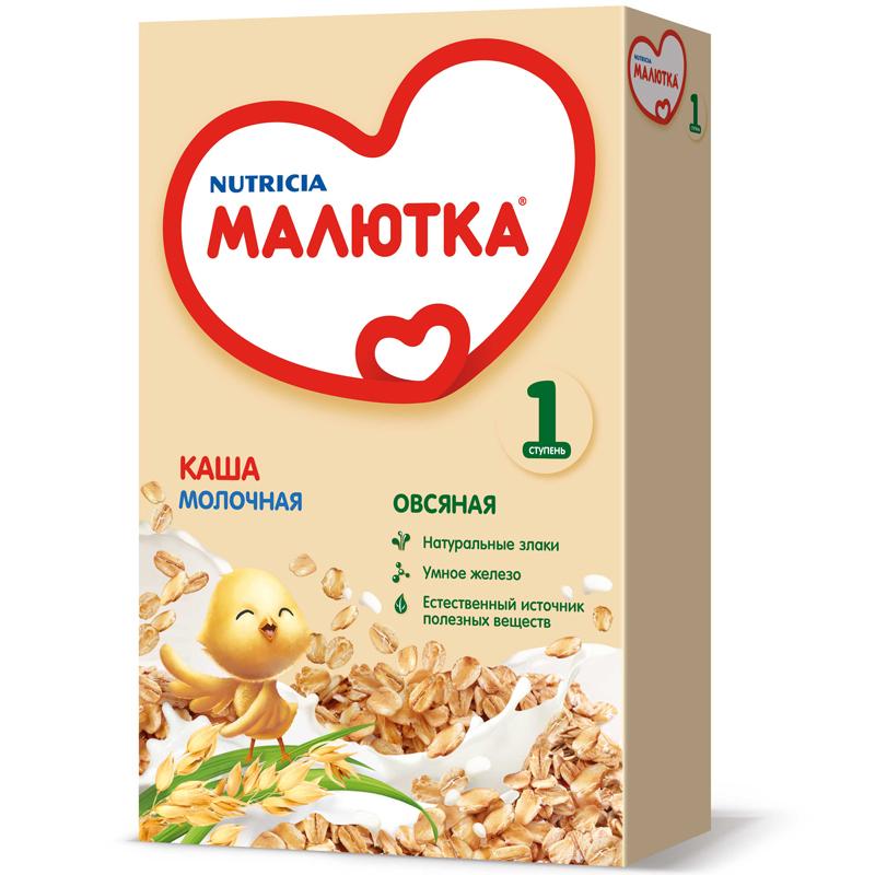 Каша Малютка молочная 220 гр Овсяная (с 5 мес)<br>