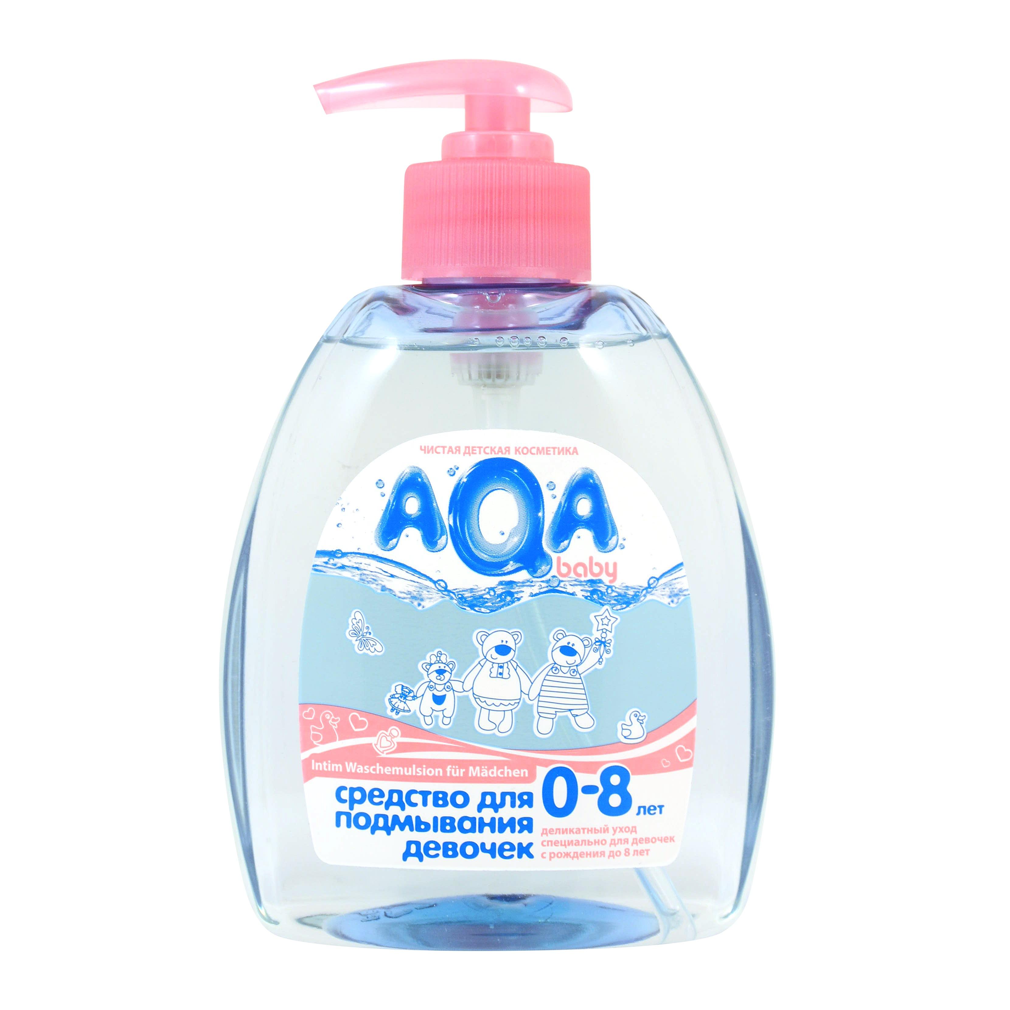 Средство для подмывания AQA baby для девочек 300 мл<br>