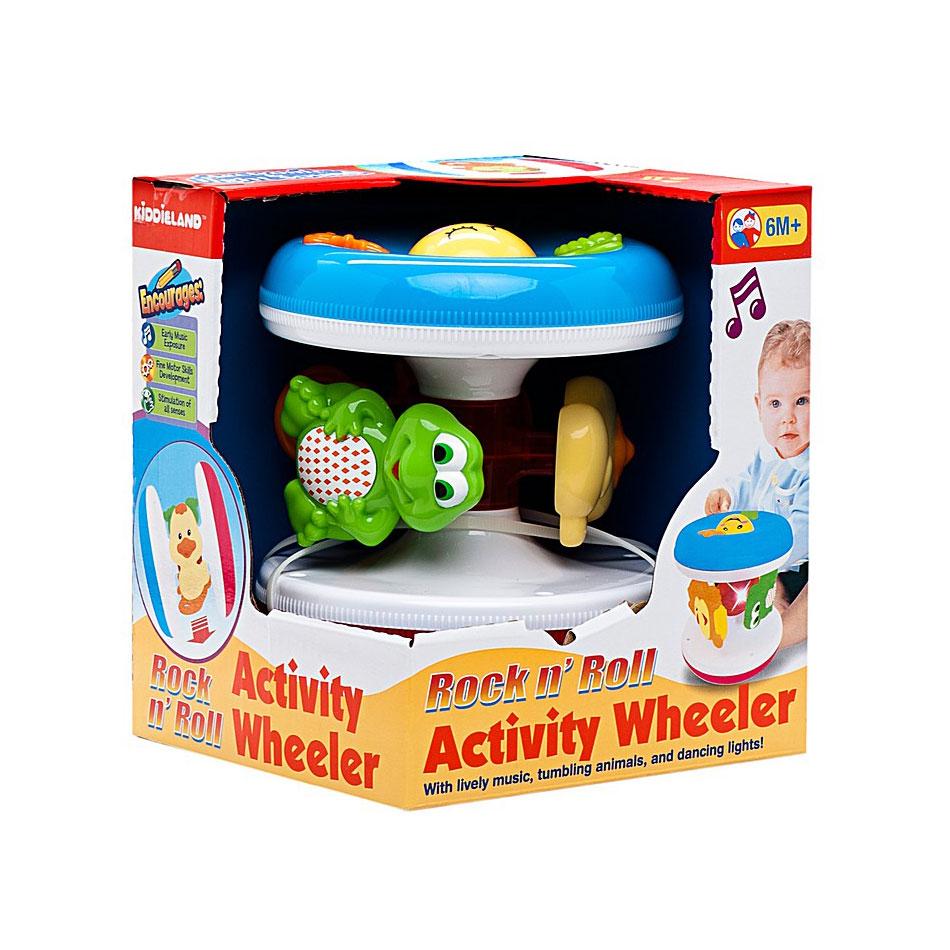 Развивающая игрушка Kiddieland Забавная вертушка с животными<br>