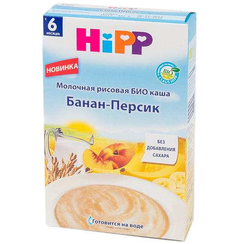 Каша Hipp молочная 250 гр Рисовая банан персик (с 6 мес)<br>