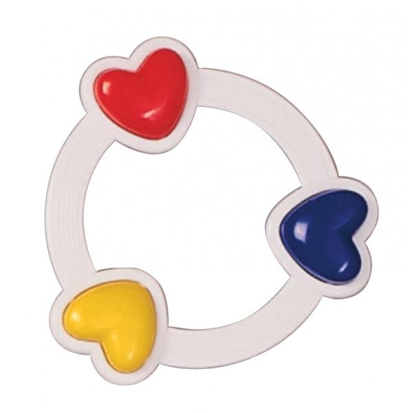 Погремушка Canpol Babies Три сердца