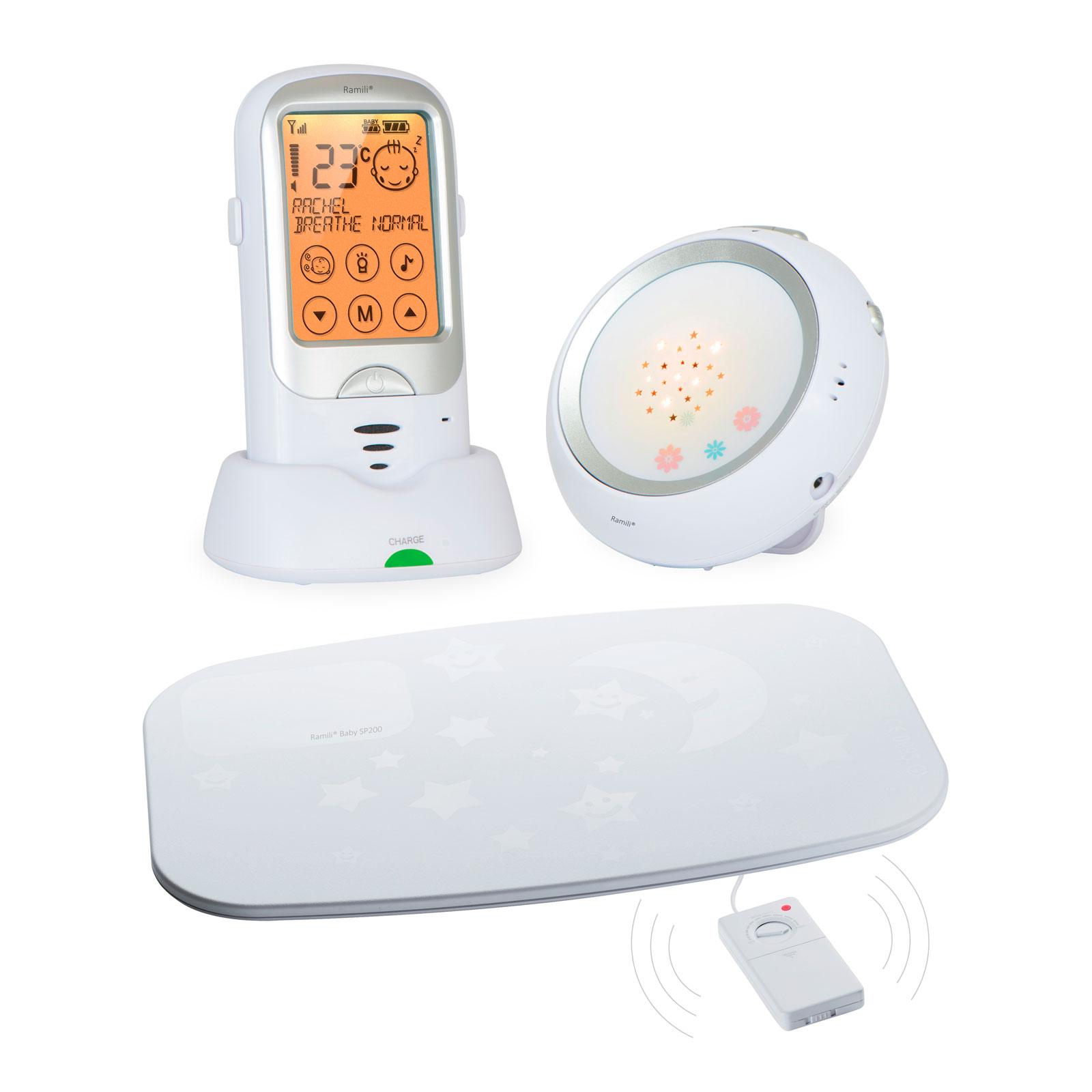 Радионяня Ramili Baby С монитором дыхания RA300SP