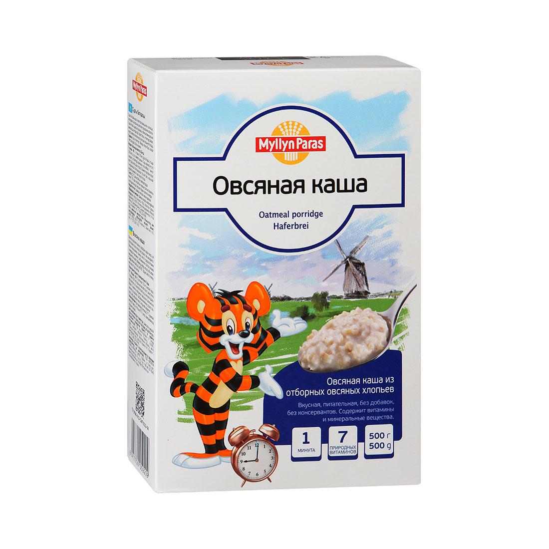 Каша Myllyn Paras безмолочная 500 гр Овсяная (с 12 мес)<br>
