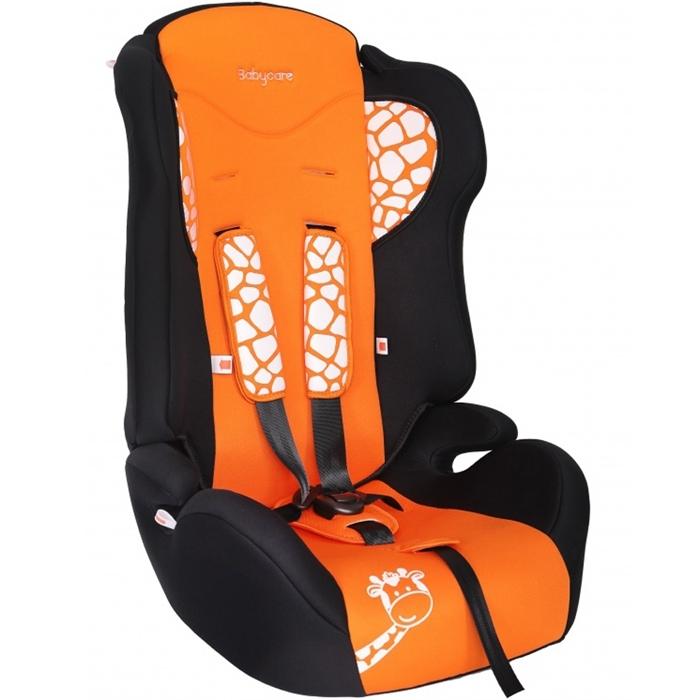 Автокресло Baby Care BC-513 Жирафик Оранжевый<br>