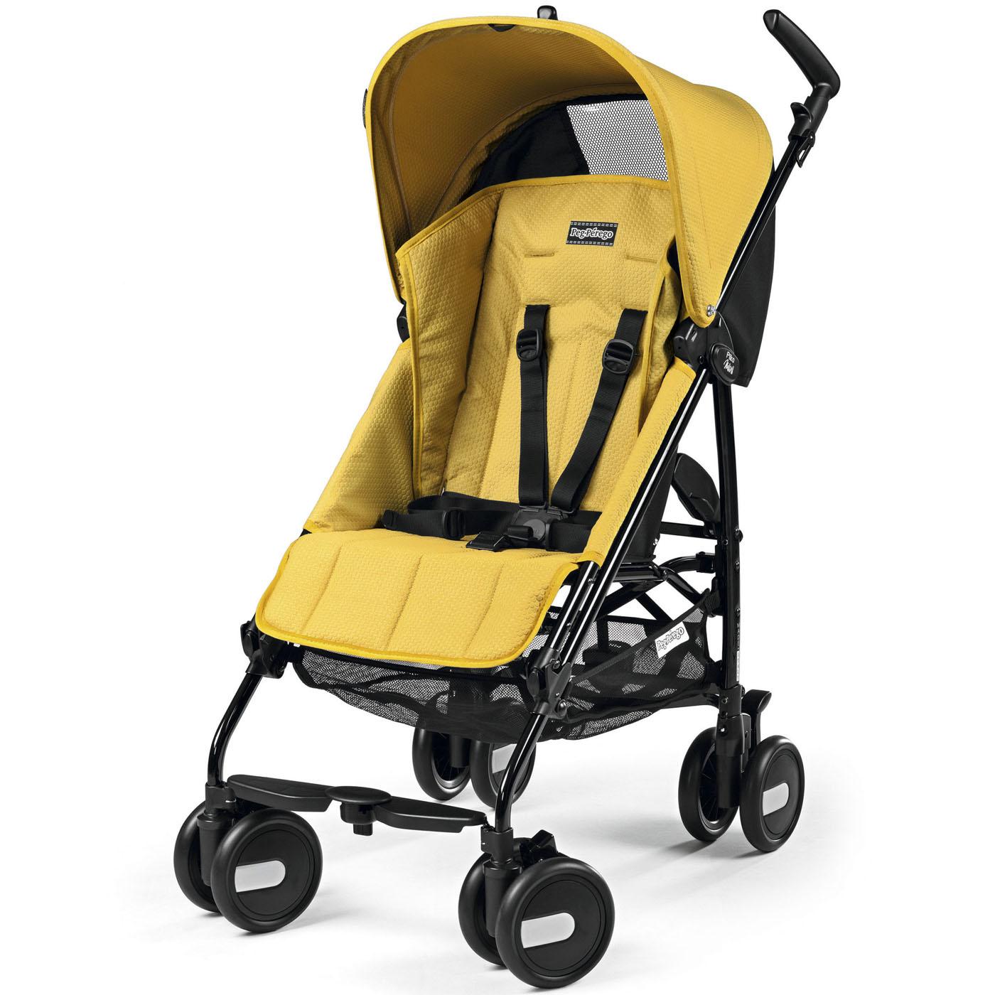 Коляска прогулочная Peg-Perego Pliko Mini Yellow<br>