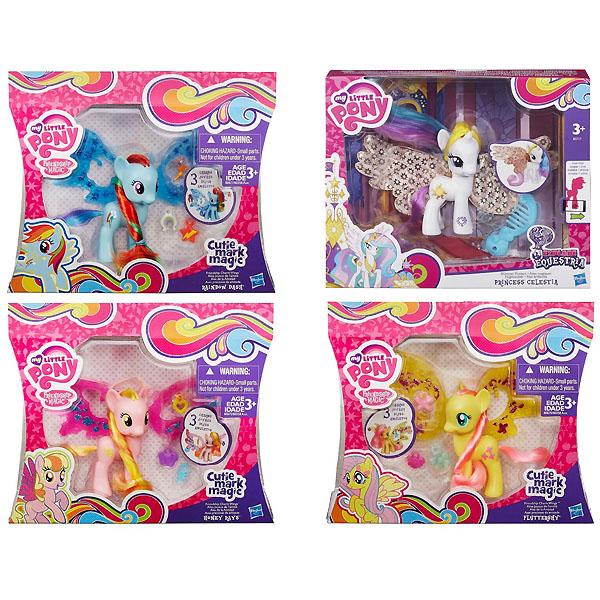 Игровой набор My Little Pony Пони Делюкс с волшебными крыльями<br>