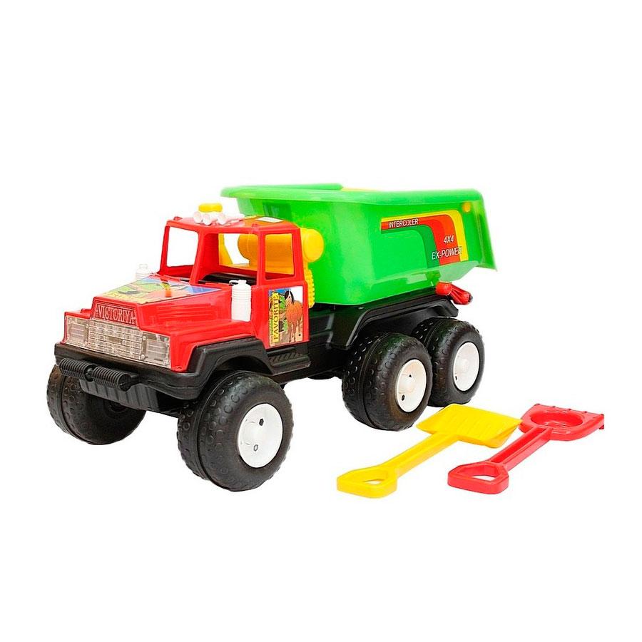 Машина RT Фаворит 120 МАХ 08-807 Лопата и грабли Красные с Зеленым<br>