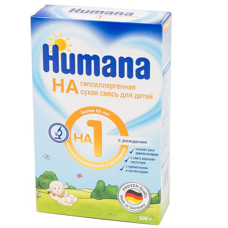 Заменитель Humana HA 300 гр №1 (с 0 мес)<br>