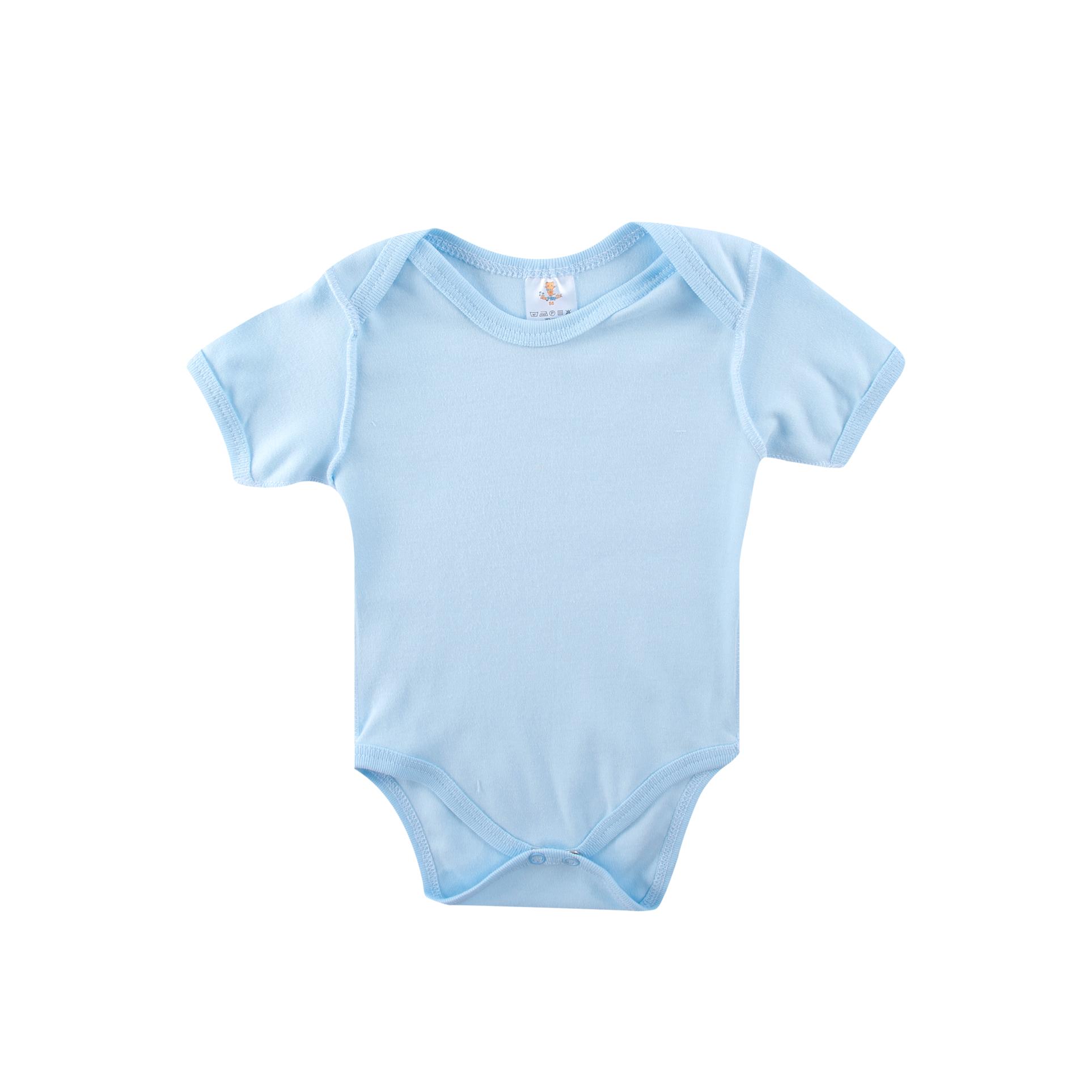 Боди без рукава КОТМАРКОТ для мальчика, цвет голубой 0-1 мес (размер 56 см)<br>