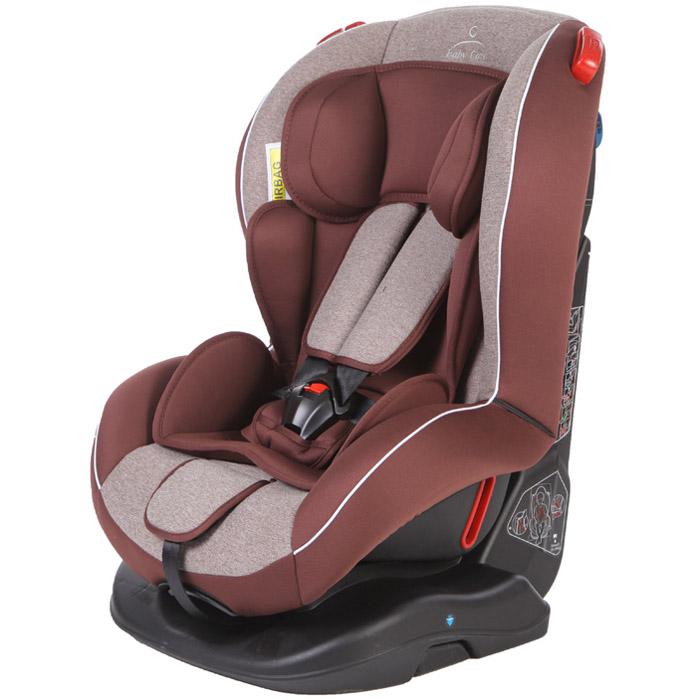 Автокресло Baby Care Basic Evolution Бежевый и Коричневый<br>