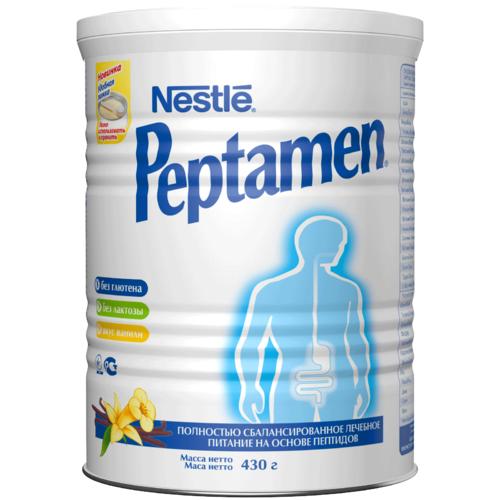 Смесь Nestle Peptamen 430 гр с ванильным вкусом (с 10 лет)