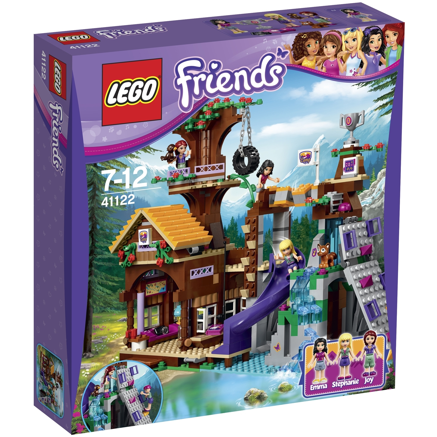 Конструктор LEGO Friends 41122 Спортивный лагерь Дом на дереве<br>