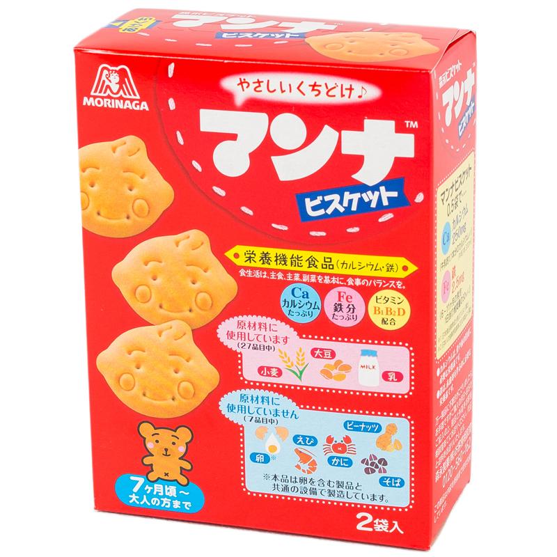 Печенье Manna Biscuit молочное фигурное (с 7 мес) 90 гр
