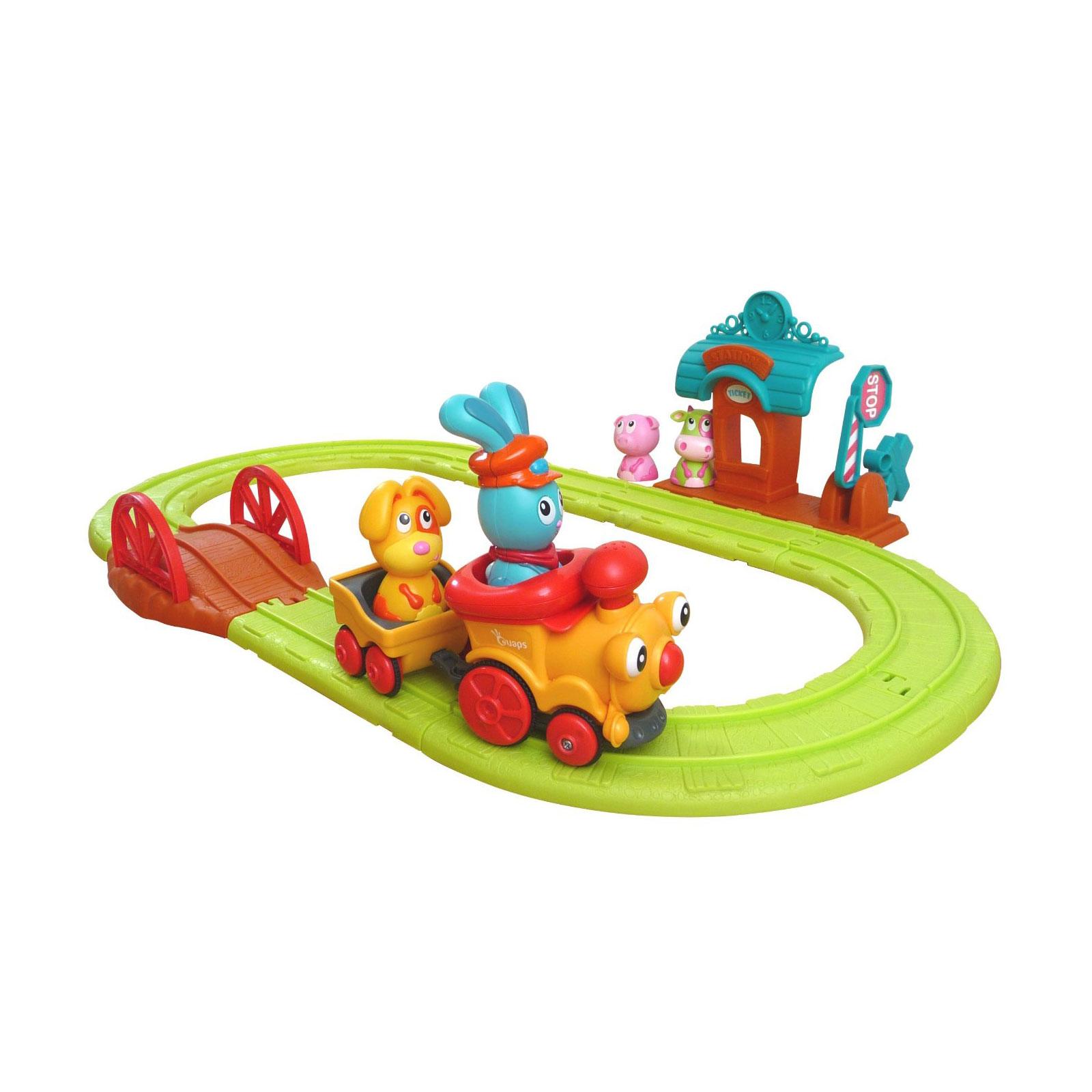 Игровой набор Ouaps Бани - железная дорога от 1 до 3 лет<br>