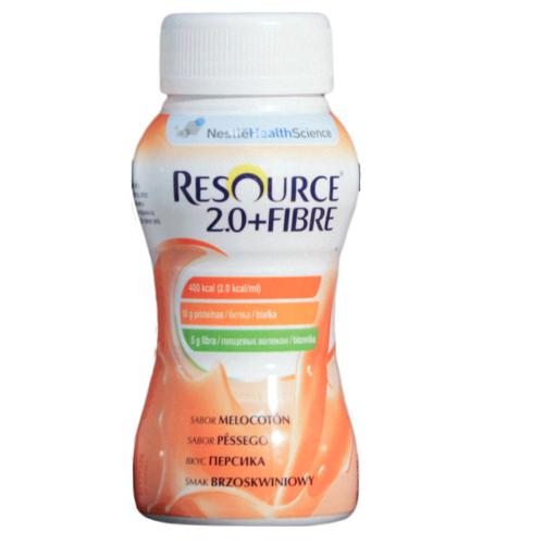 Смесь Nestle RESOURCE fibre 2.0 200 мл со вкусом персика (с 3 лет)<br>