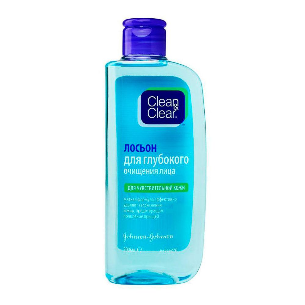 Лосьон для лица Clean&amp;amp;Clear для чувствительной кожи 200мл<br>