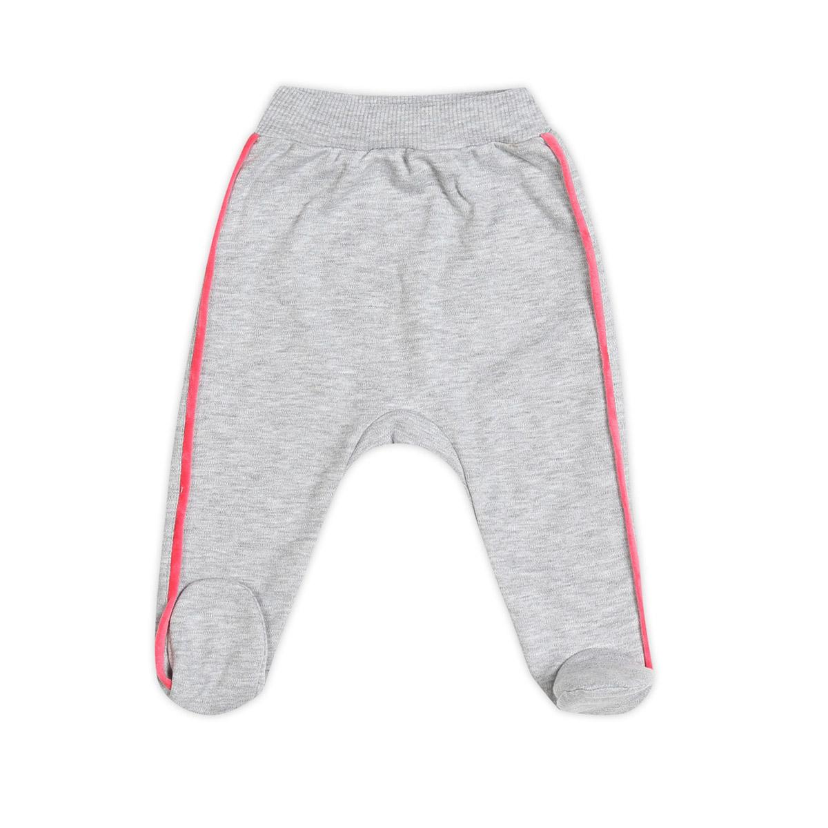 Ползунки с ножками Ёмаё Спорт (26-265) рост 62 серый меланж<br>