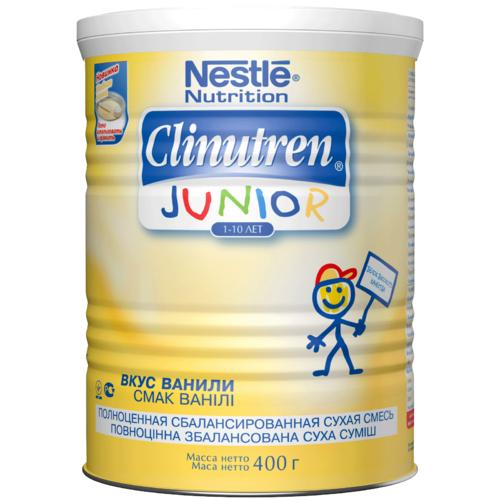 Смесь Nestle Clinutren Junior 400 гр с ванильным вкусом (с 1 года)<br>