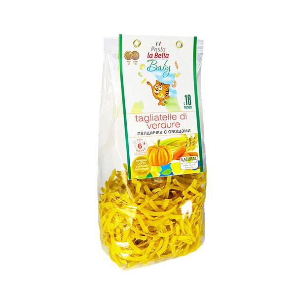 Макароны Pasta La Bella baby 250 гр с 18 мес Лапшичка с овощами<br>