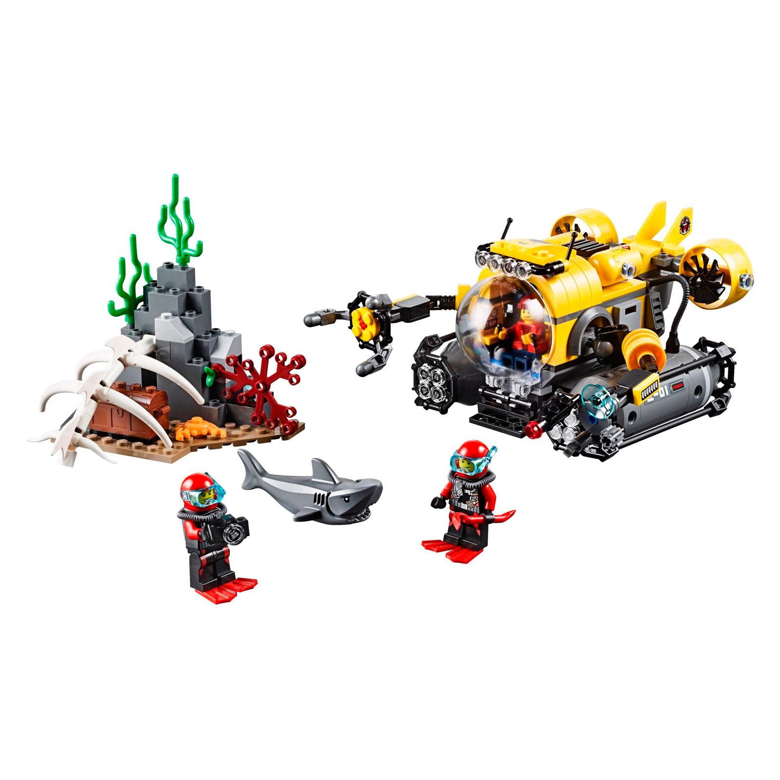 Конструктор LEGO City 60092 Глубоководная подводная лодка<br>