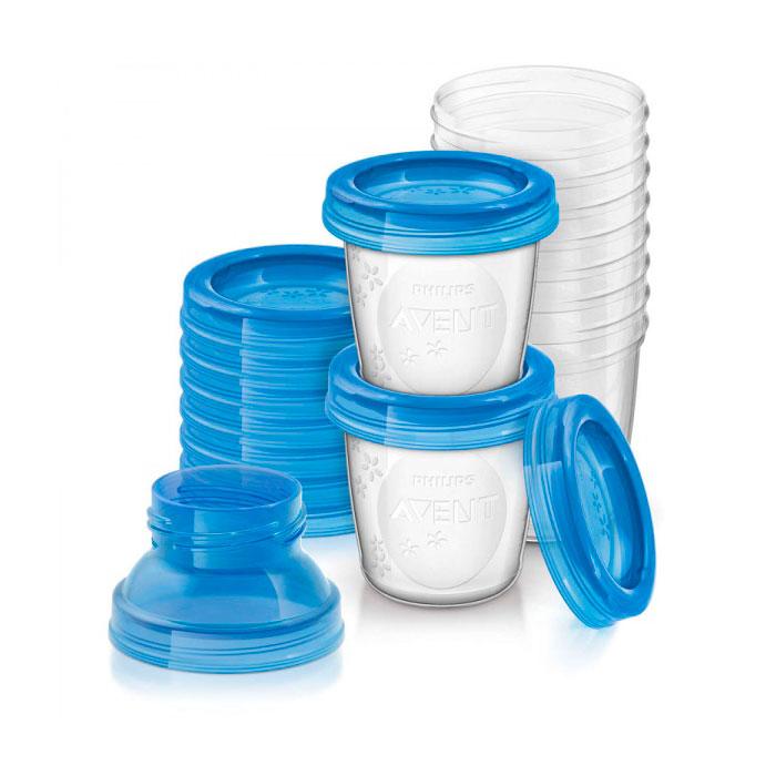 Набор контейнеров Philips Avent 180 мл для хранения молока 10шт<br>