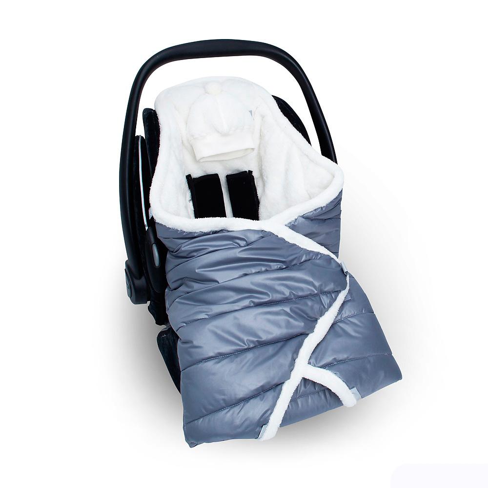 Конверт-одеяло Bemini Beside Coating + Softy Yetti Pingu<br>